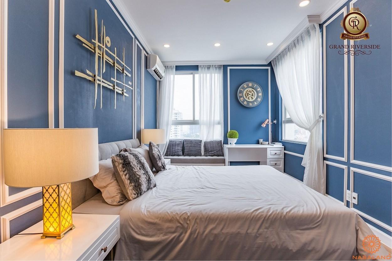 Nội thất phòng ngủ căn hộ Grand Riverside quận 4