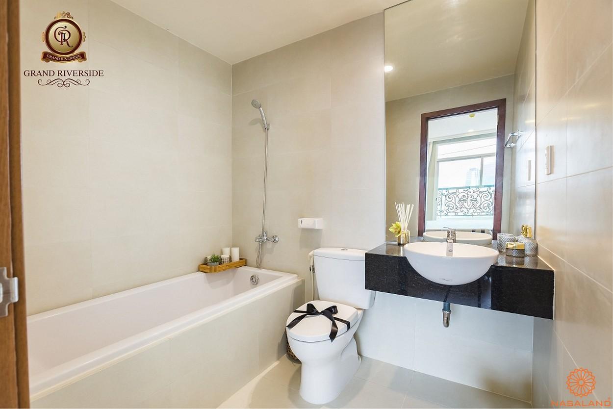 Nội thất phòng tắm của căn hộ thuộc dự án
