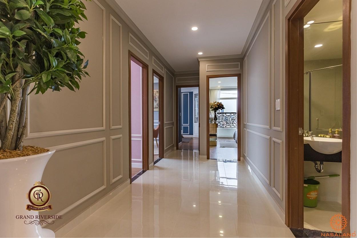 Nội thất lối đi đến các phòng của căn hộ thuộc dự án