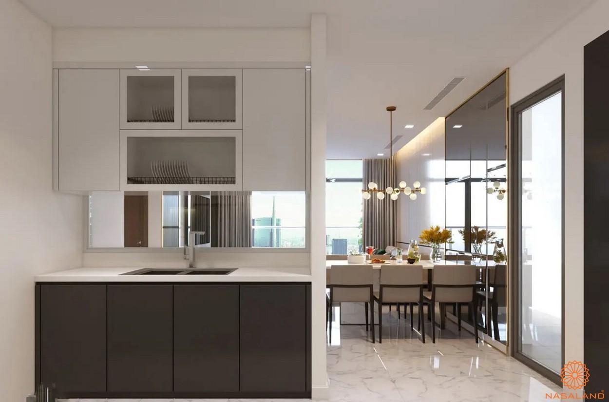Nội thất phòng bếp dự án căn hộ Masterise Homes Ba Son