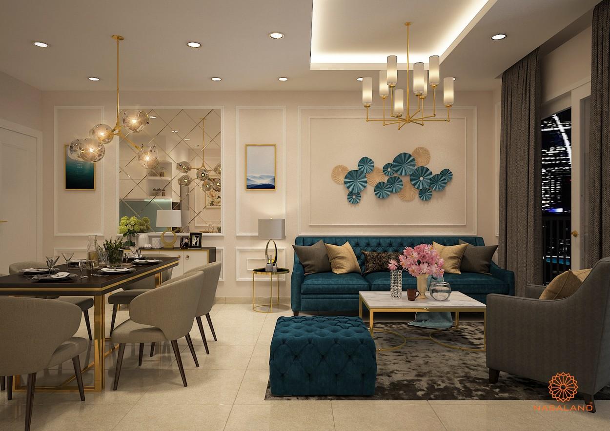Nội thất dự án căn hộ Paris Hoàng Kim