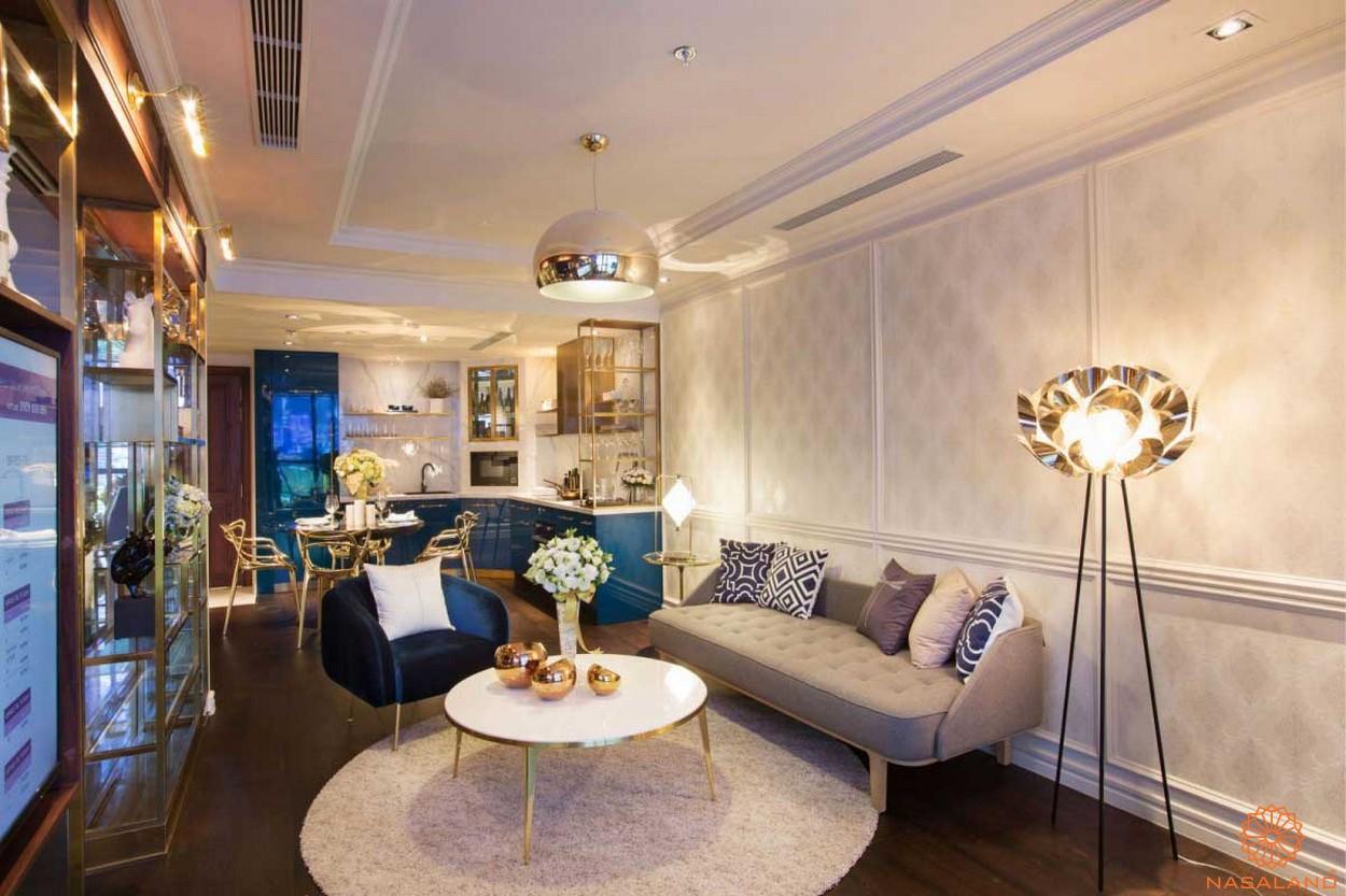 Nội thất dự án căn hộ Soho Residences quận 1 chủ đầu tư Novaland
