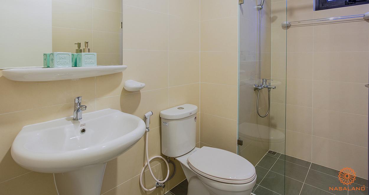 Nội thất toilet của dự án M-One Nam Sài Gòn