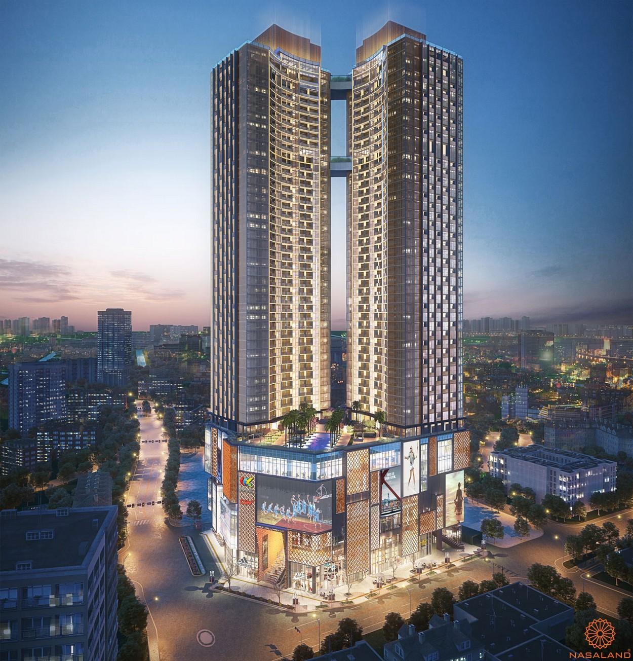 Phối cảnh tổng quan căn hộ thuộc dự án Alpha City