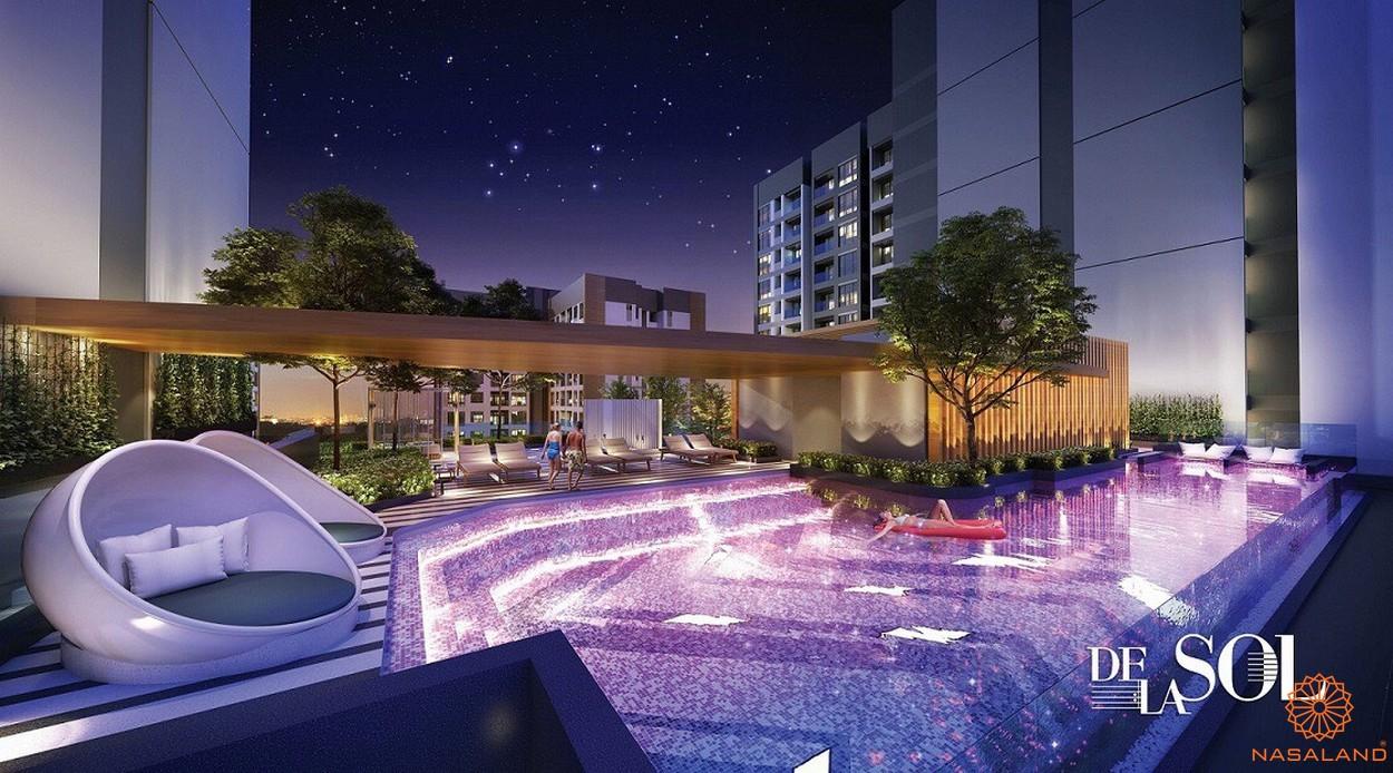 Phối cảnh dự án căn hộ De La Sol quận 4