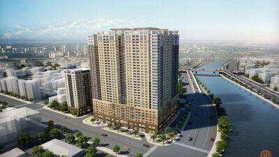 Phối cảnh dự án căn hộ Saigon Royal quận 4 chủ đầu tư Novaland