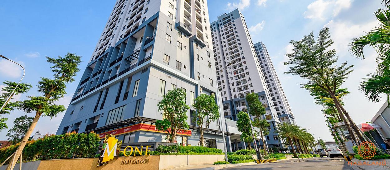 Phối cảnh tổng thể dự án M-One Nam Sài Gòn