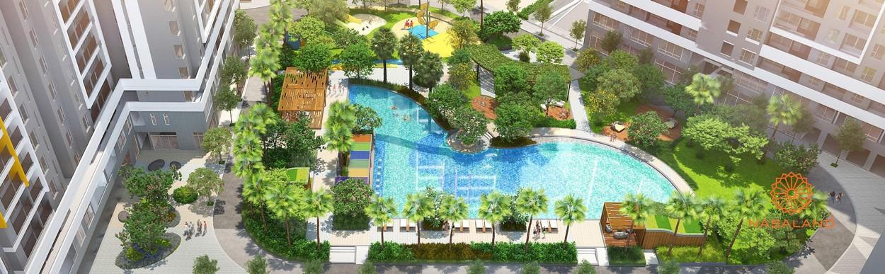 Phối cảnh dự án nhà phố Safira Khang Điền