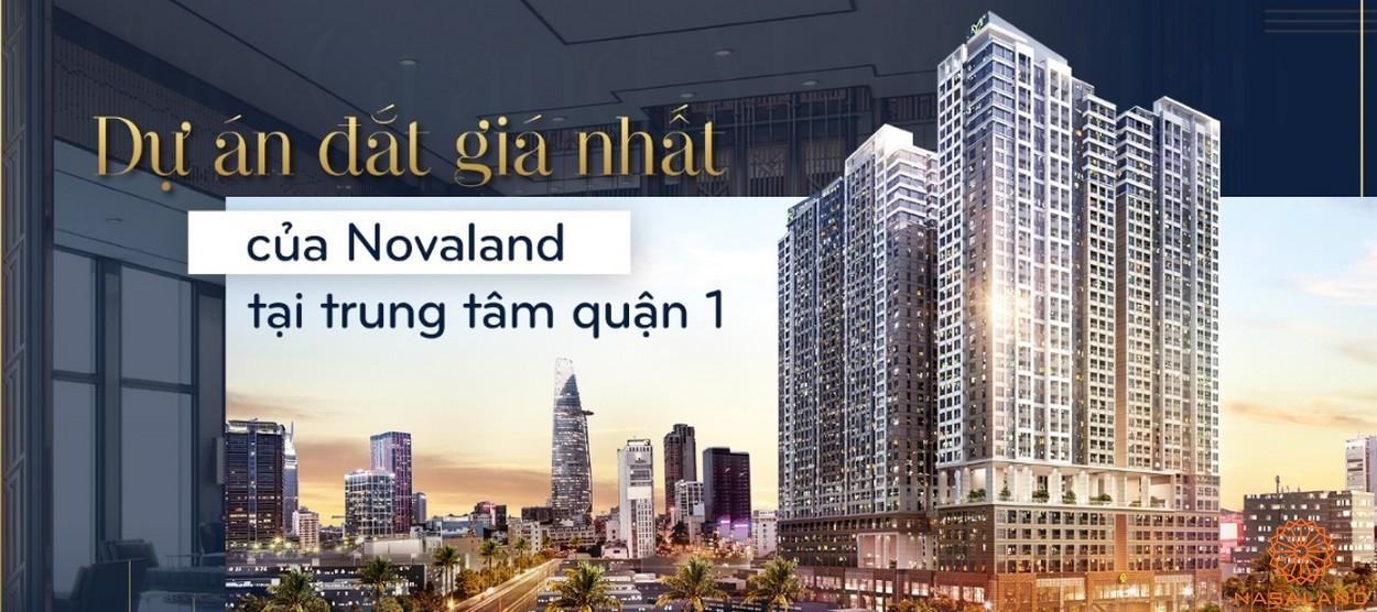 Phối cảnh dự án căn hộ Soho Residences quận 1 chủ đầu tư Novaland