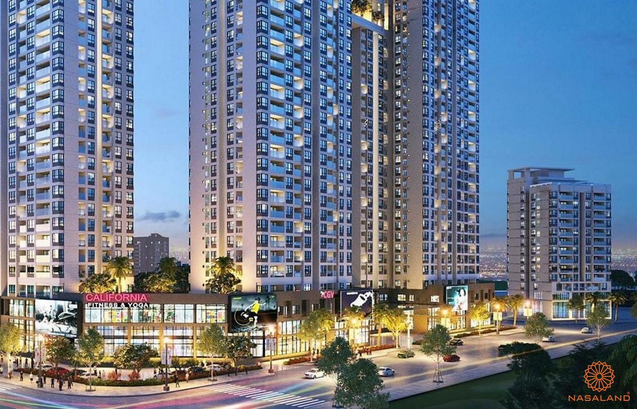 Phối cảnh tổng thể dự án căn hộ Marina Park