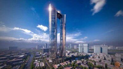Phối cảnh tổng thể dự án căn hộ Sunshine Tower quận 1