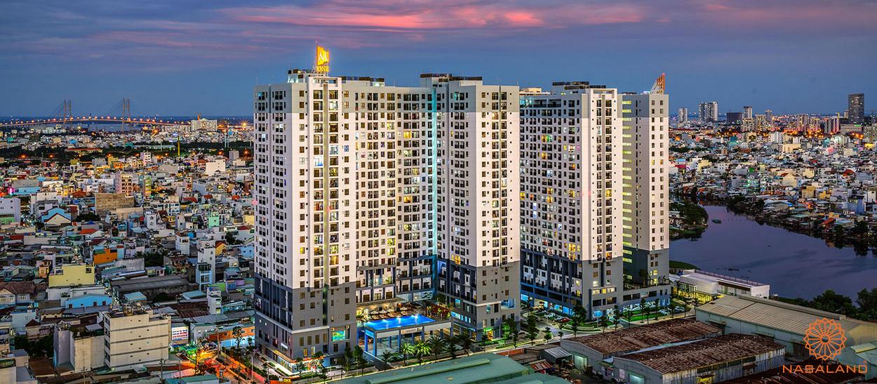 Toàn cảnh dự án M-One Nam Sài Gòn