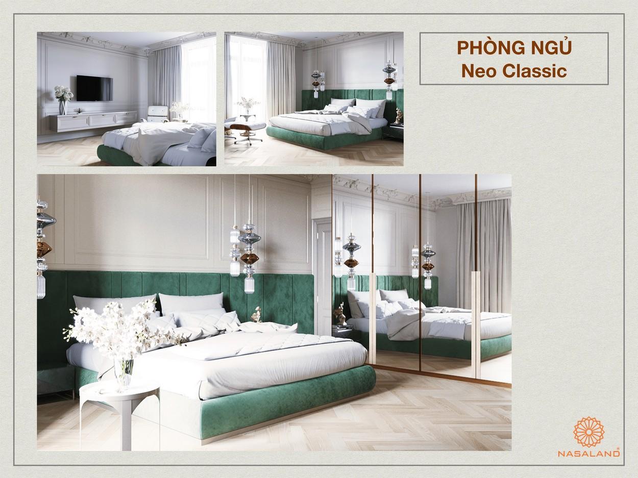 Phong cách tân cổ điển trong thiết kế Paris Hoàng Kim Quận 2