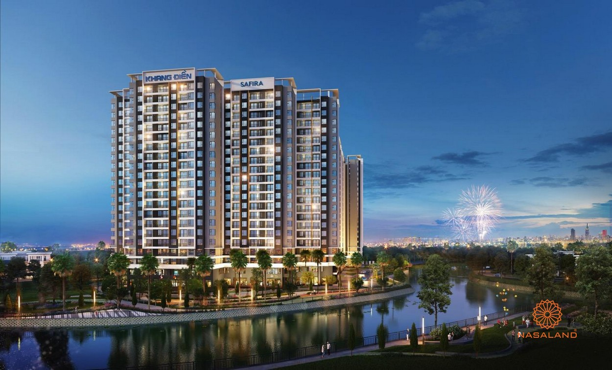 Quy mô dự án nhà phố Safira Khang Điền