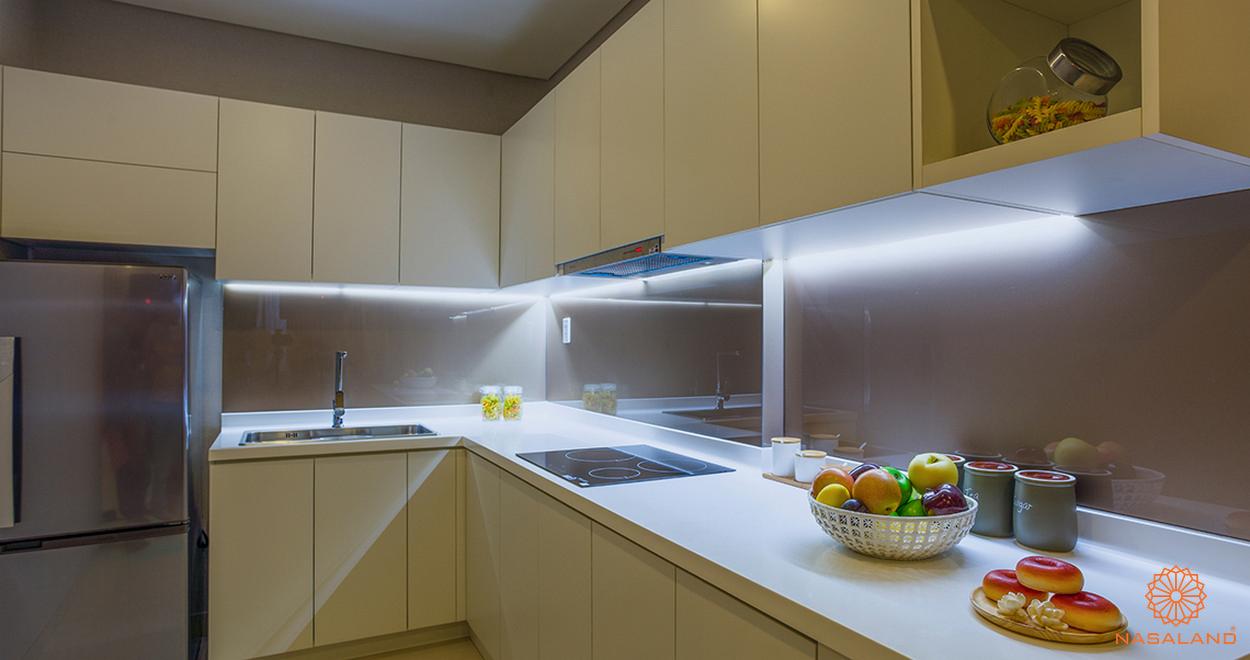 Thiết kế căn bếp dự án M-One Nam Sài Gòn