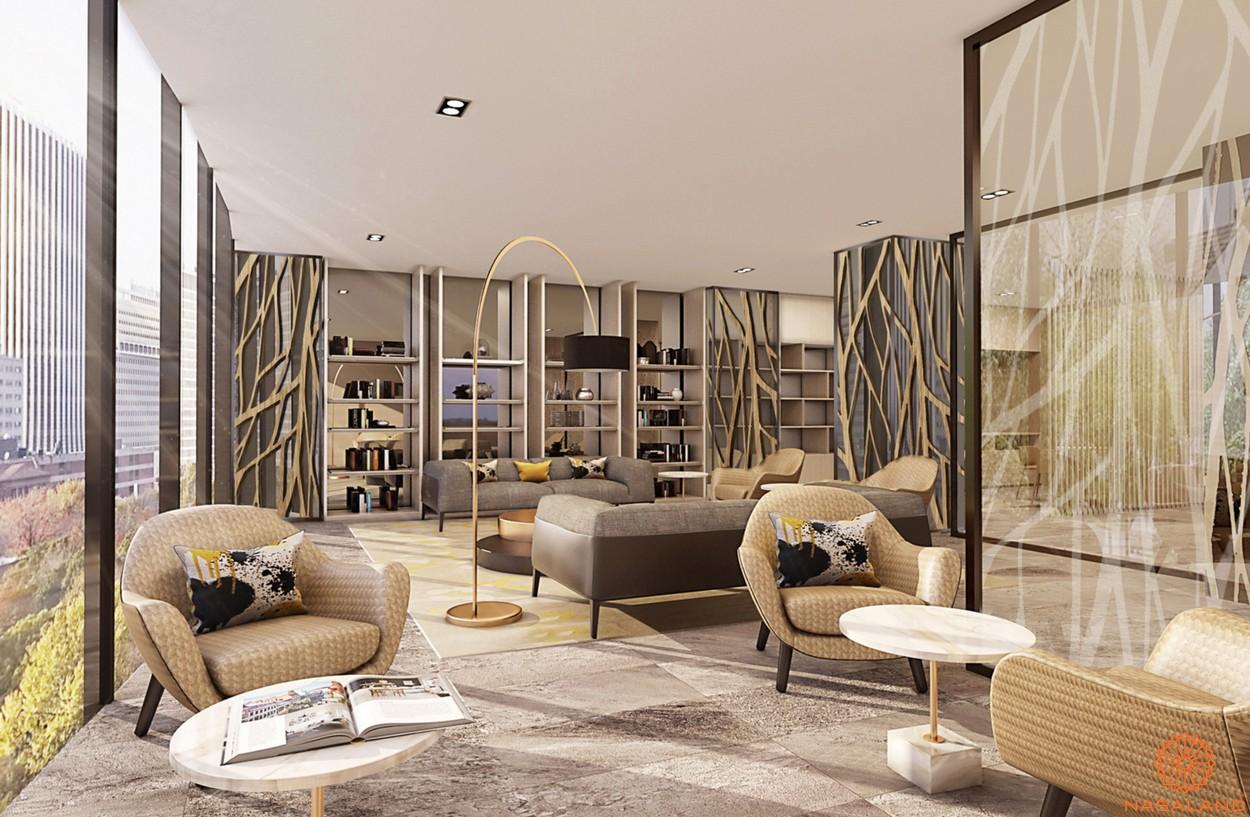 Thiết kế phòng khách của dự án