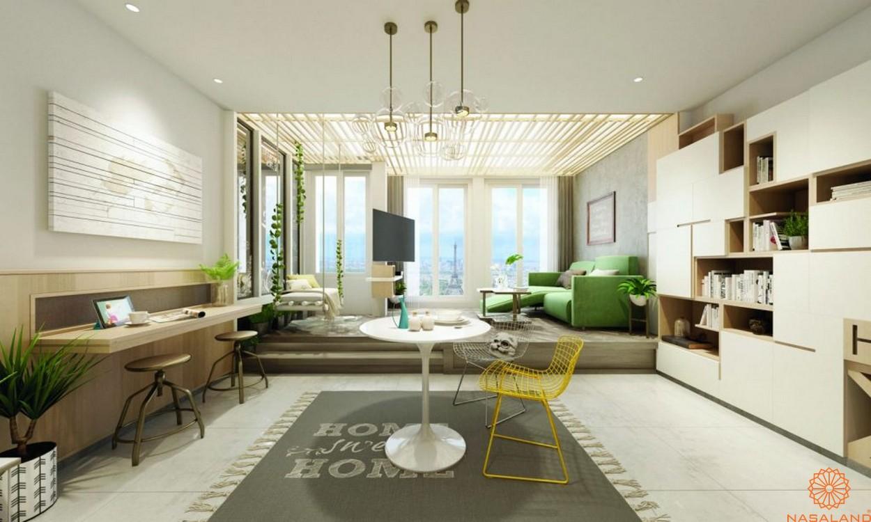 Thiết kế căn hộ của dự án
