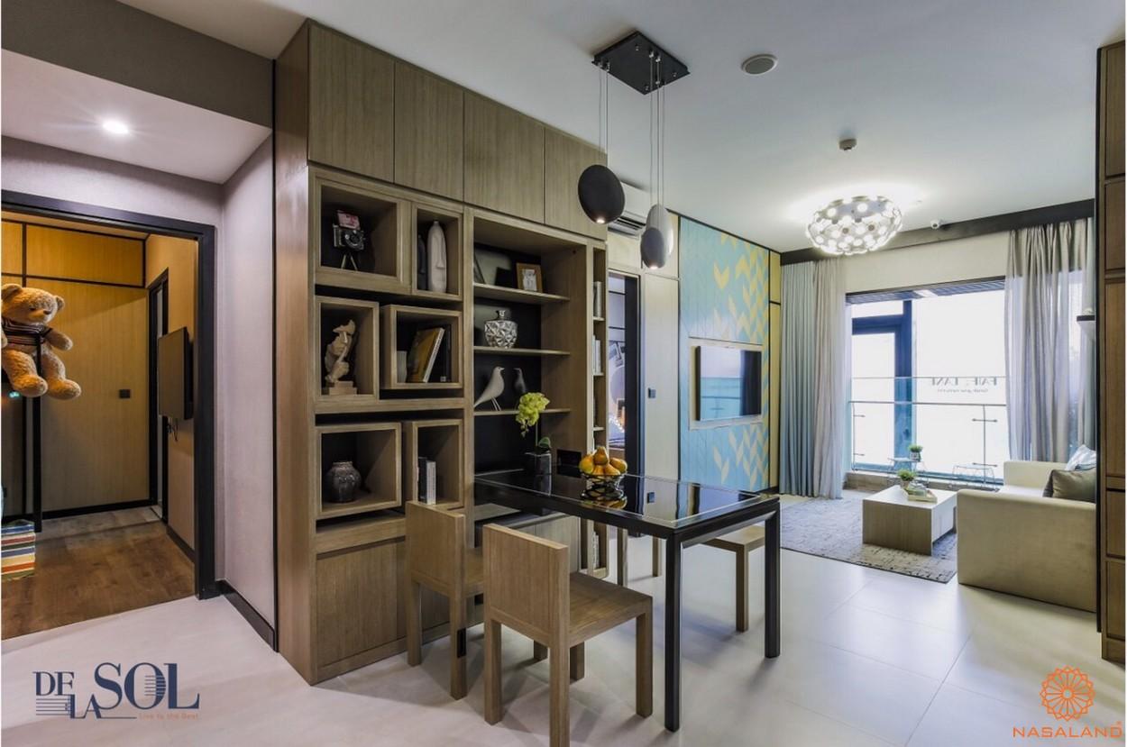 Thiết kế căn hộ De La Sol quận 4