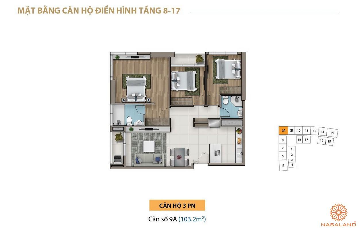 Thiết kế dự án căn hộ Saigon Royal quận 4 chủ đầu tư Novaland