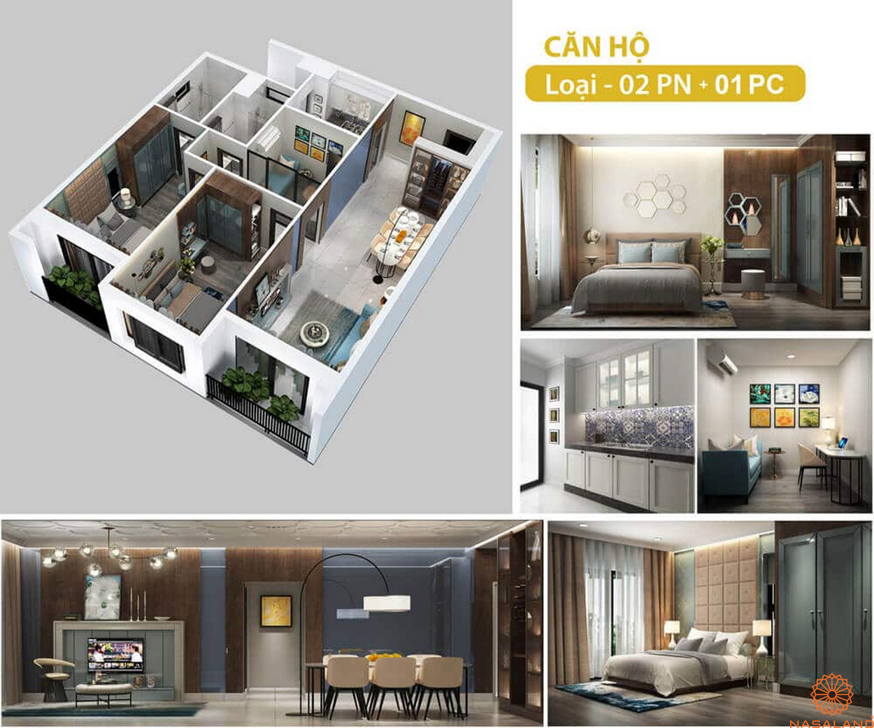 Thiết kế dự án căn hộ chung cư cao cấp Hado Green Lane quận 8 thành phố Hồ Chí Minh