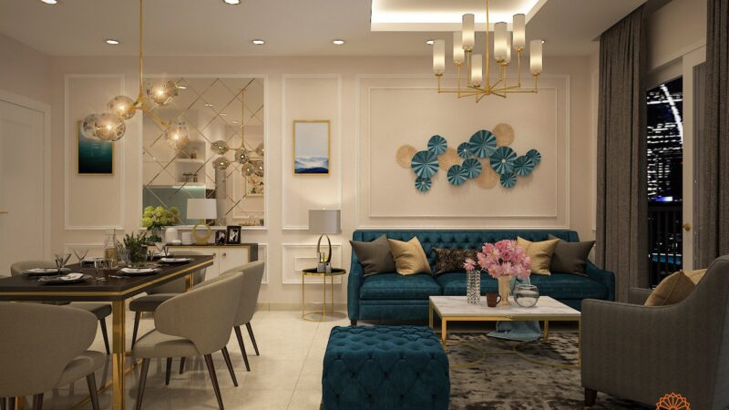 Thiết kế Paris Hoàng Kim Quận 2 - Tuyệt tác nghệ thuật kiến trúc