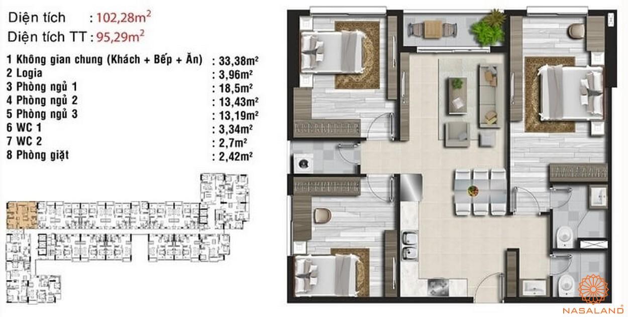 Thiết kế dự án căn hộ Riva Park quận 4