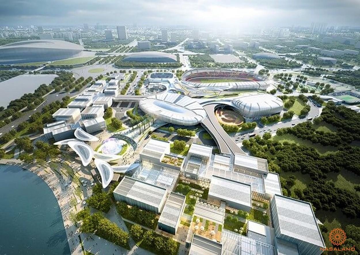 Thiết kế dự án Saigon Sport City quận 2
