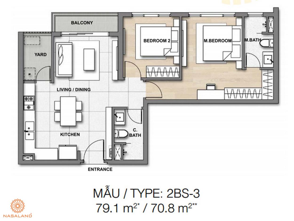 Mẫu thiết kế căn hộ Palm Springs số 2