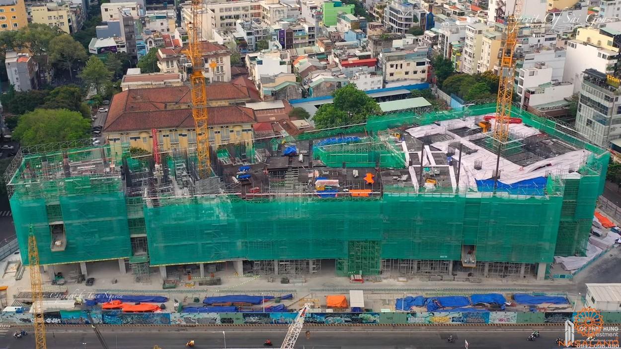 Tiến độ căn hộ thuộc dự án The Spirit Of Saigon quận 1
