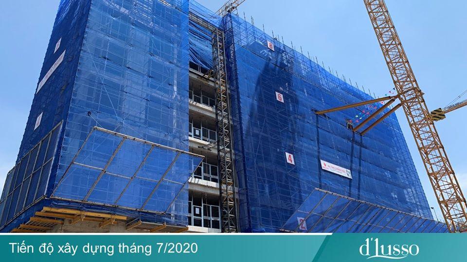 Tiến độ dự án căn hộ D'Lusso Emerald Quận 2