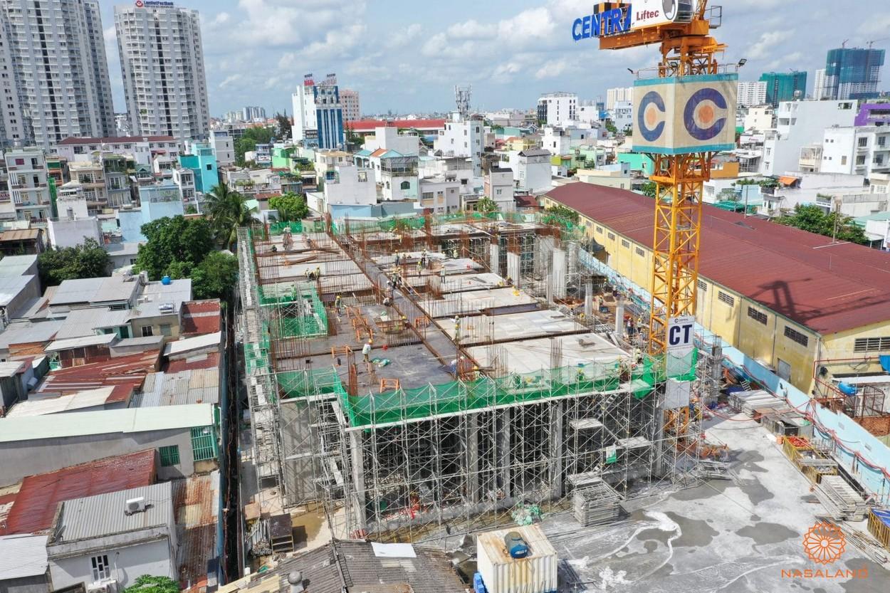 Một góc xây dựng của Asiana Phú Lâm