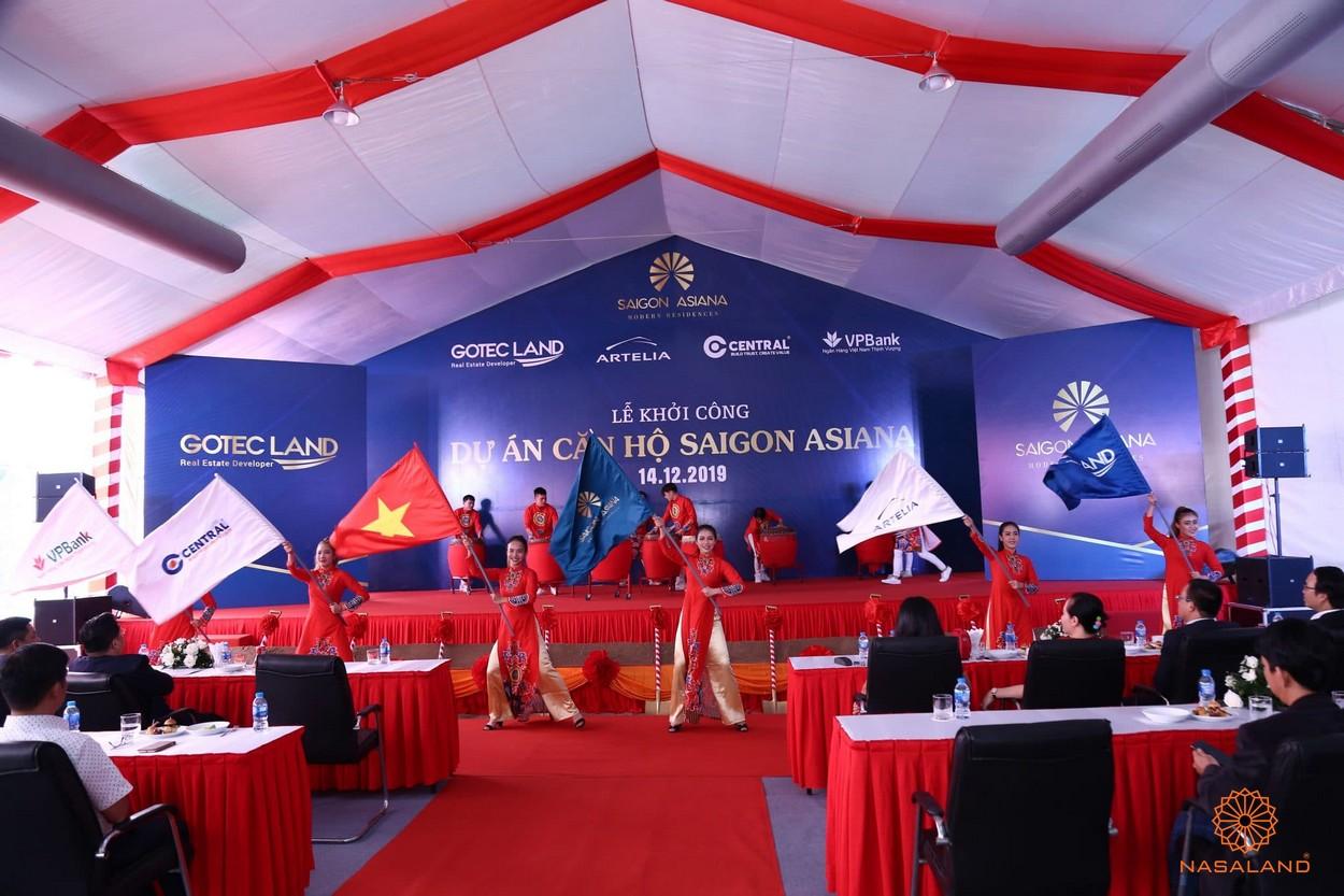 Lễ khởi công xây dựng dự án căn hộ Asiana Phú Lâm