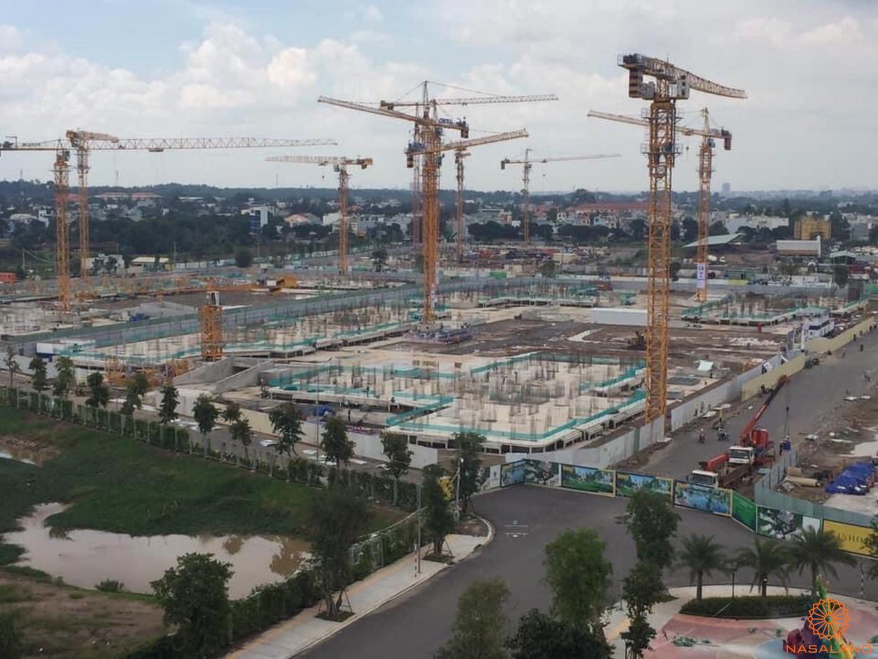 Tiến độ xây dựng căn hộ The Origami tháng 8/2020