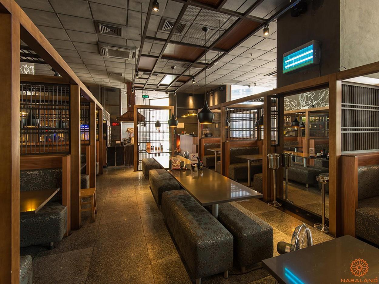 Tiện ích nhà hàng nội khu dự án Alpha City