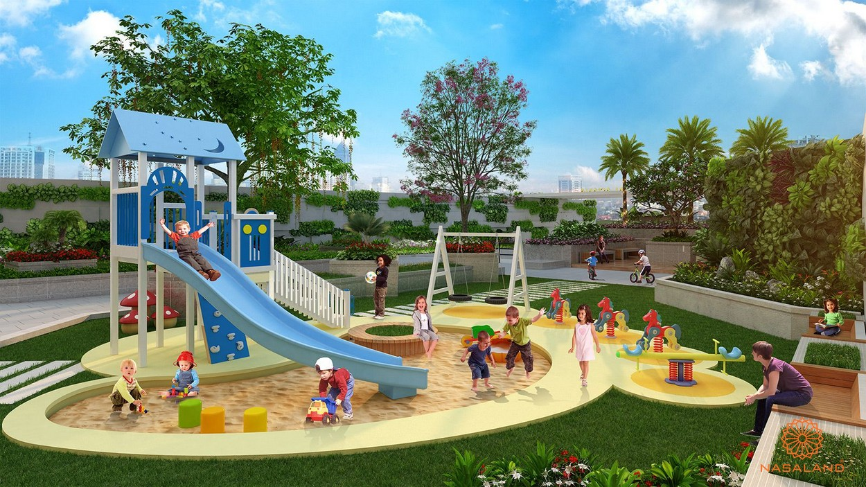 Sân vui chơi trẻ em Asiana quận 6