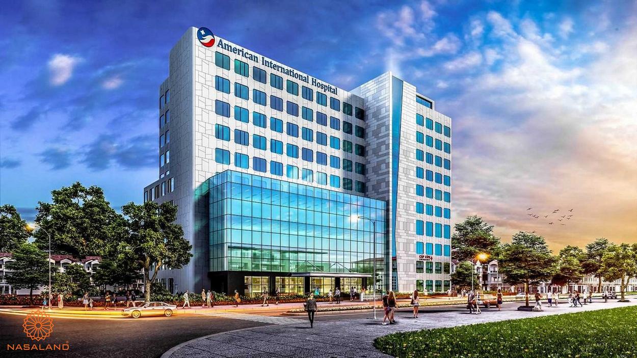 Tiện ích ngoại khu Palm Springs - bệnh viện quốc tế