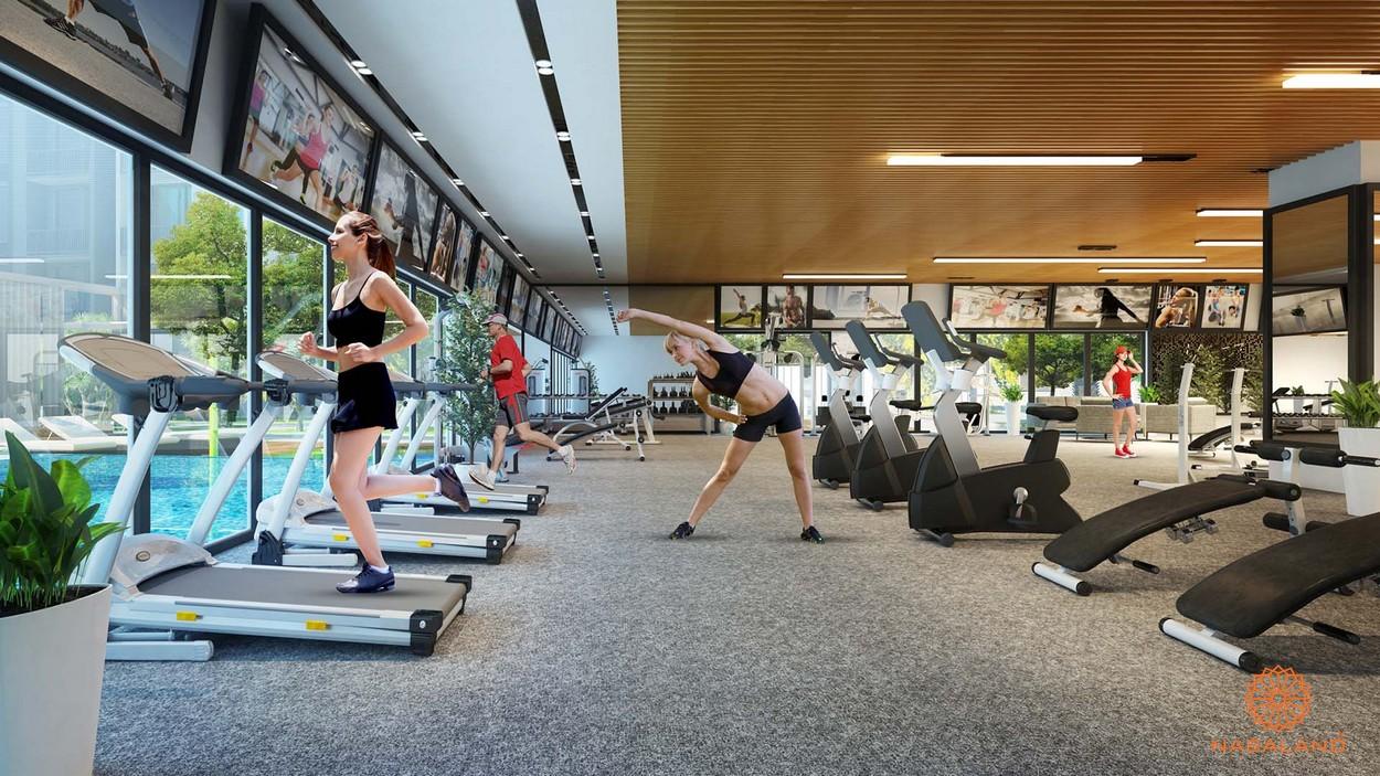 Tiện ích căn hộ Phú Đông - phòng gym