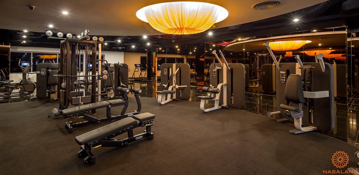 Tiện ích phòng gym dự án căn hộ Spirit Of Saigon quận 1