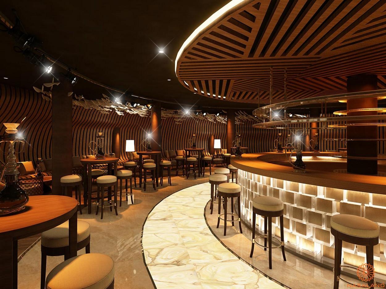 Tiện ích nhà hàng dự án căn hộ The Spirit Of Saigon quận 1