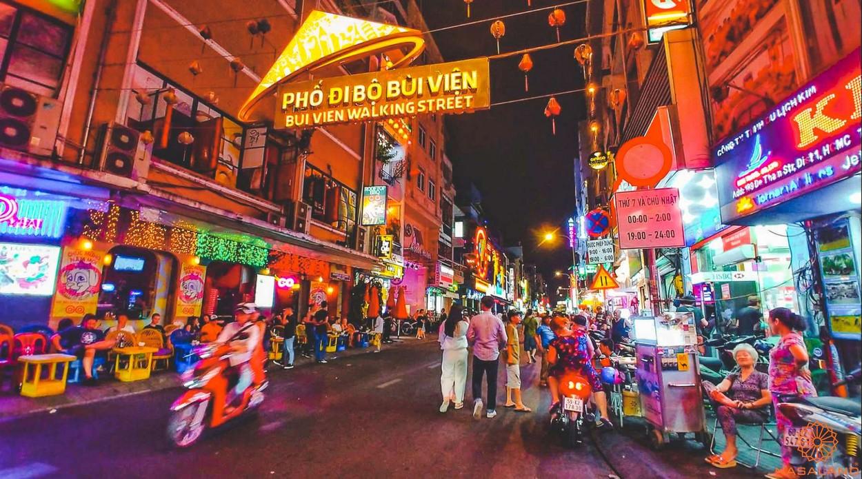 Tiện ích ngoại khu dự án căn hộ The Spirit Of Saigon quận 1
