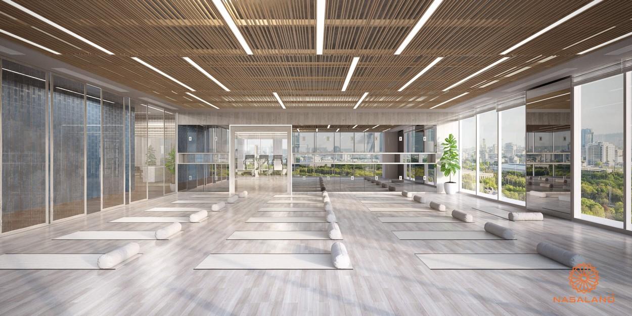 Phòng dành cho thiền & yoga dự án căn hộ Lancaster Lincoln Quận 4
