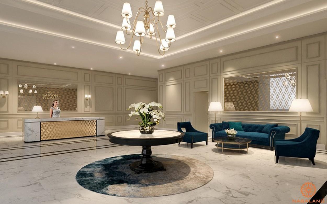 Tiện ích dự án căn hộ Saigon Royal quận 4 chủ đầu tư Novaland