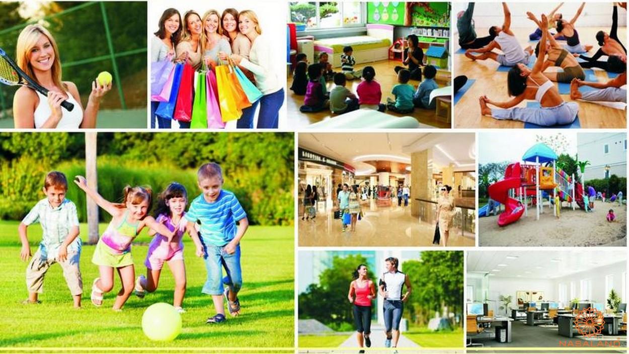 Tiện ích dự án Saigon Sport City quận 2