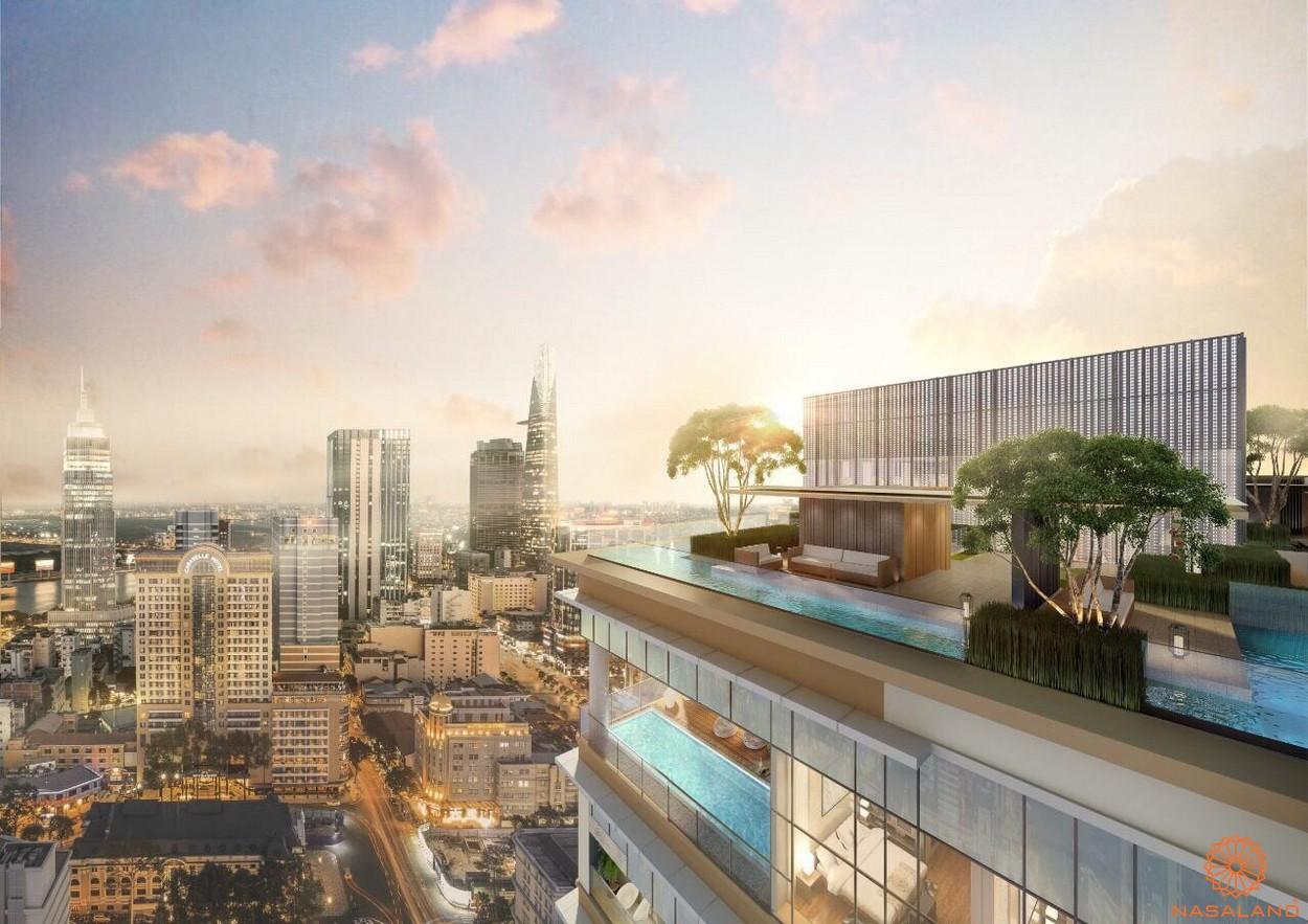 Tiện ích dự án căn hộ Soho Residences quận 1 chủ đầu tư Novaland