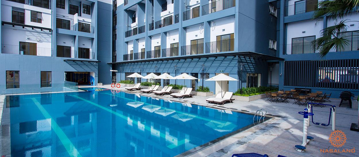 Hồ bơi nội khu dự án M-One Nam Sài Gòn