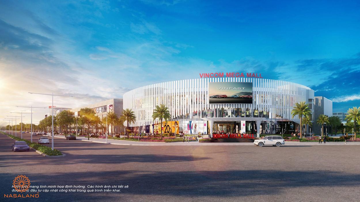 Tiện ích ngoại khu Palm Springs Vincoms Mega Mall