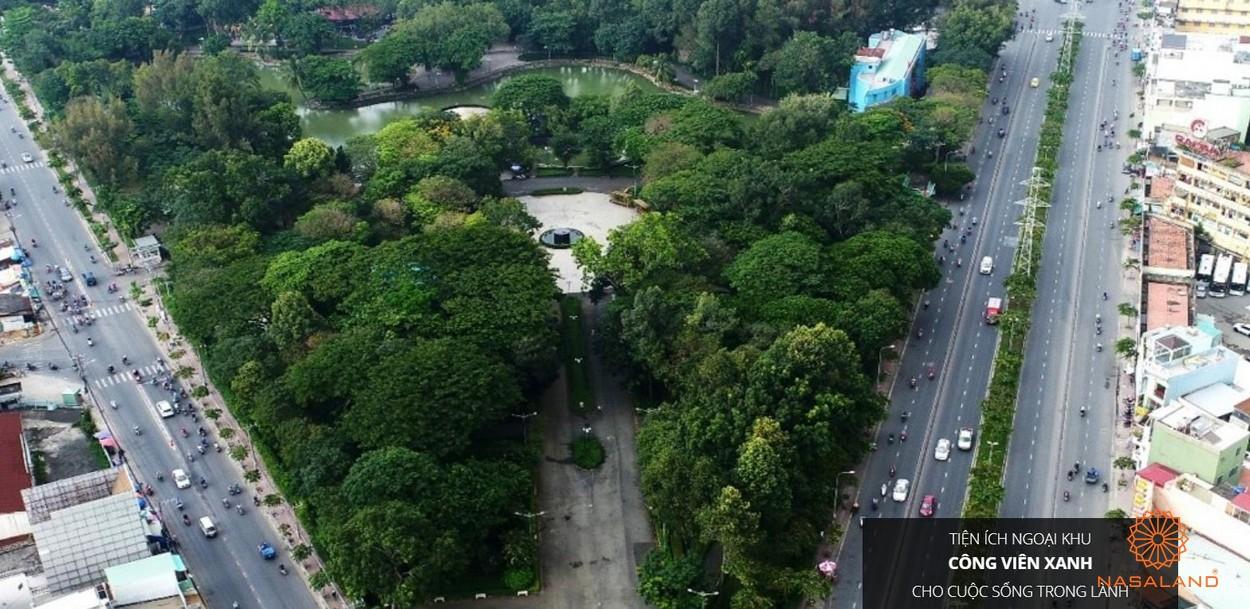 Công viên Phú Lâm là tiện ích ngoại khu của dự án căn hộ Asiana Capella