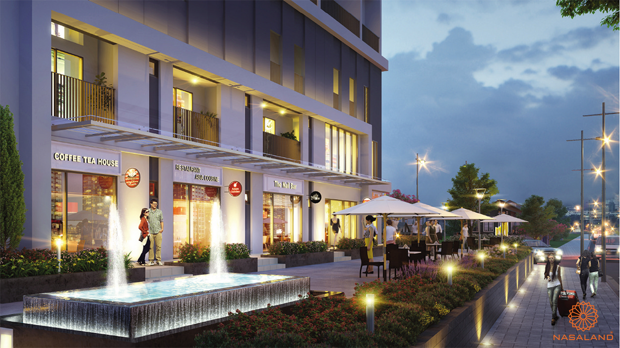 Tiện ích shophouse dự án M-One Nam Sài Gòn