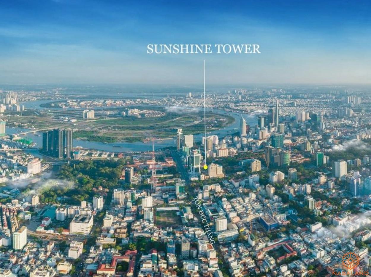 Vị trí Sunshine Tower quận 1 chủ đầu tư Sunshine Group