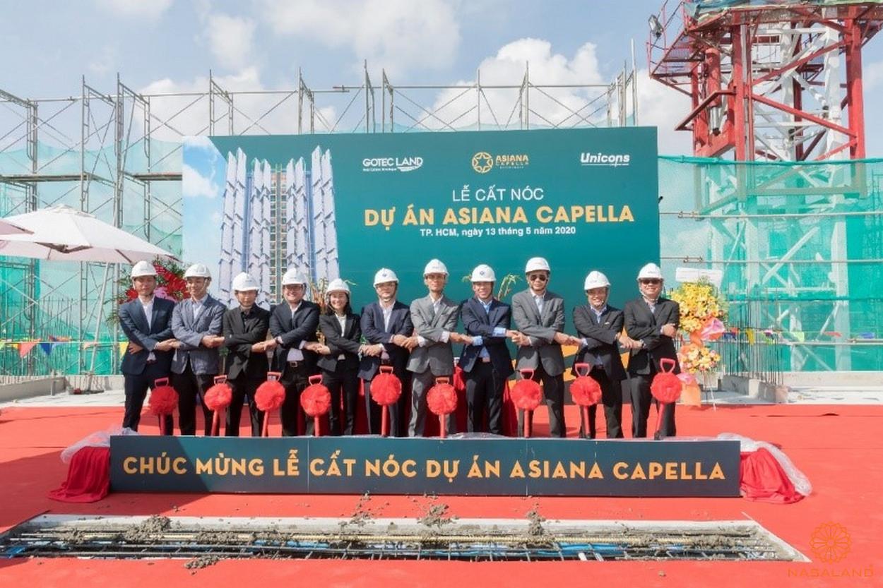 Lễ cất nóc dự án Asiana Capella